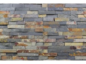 kamenný obklad multicolor břidlice BL003